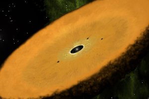 45-Million-Years-Old Terrestrial Disk Found at Star