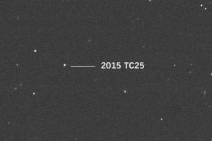 Is it a bird or burning plane? Astronomers find smallest ever 'bald' asteroid