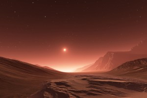 Energised Particles of Solar Wind Turned Once-Earth-Like Mars to a Cold & Dry Planet