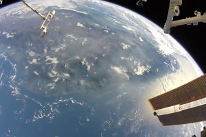 Watch this stunning view Earth from space captured by NASA astronaut during spacewalk