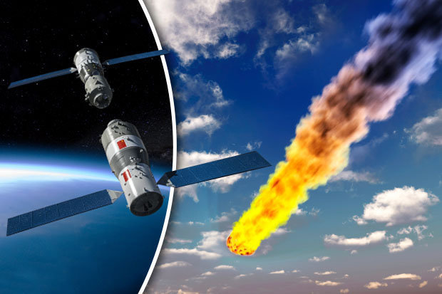 Out of control: the Earth will collapse toxic space station