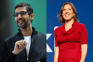 Google execs Sundar Pichai and Susan Wojcicki discusses on misleading web-content and other subjects