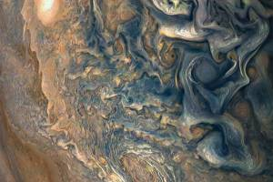 NASA Juno probe beams back haunting photo of Northern Hemisphere of Jupiter