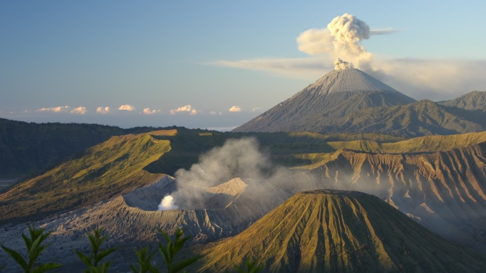 The Volcano that can aid to reduce global warming