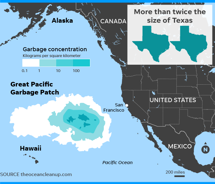 The Expanding Great Pacific Garbage Patch