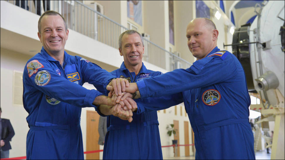 Veteran Crew Launches to the Space Station Today