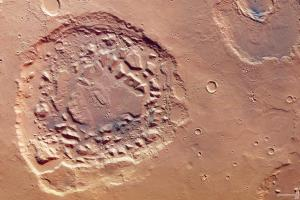 Researchers stumbles upon 'Ismenia Patera', a strange feature found on the Martian surface