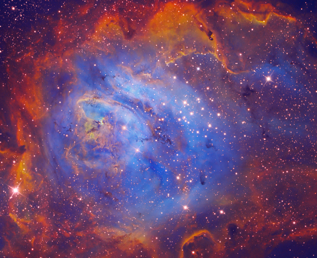 Hubble 28th Anniversary Image Captures Roiling Heart of Vast Stellar Nursery