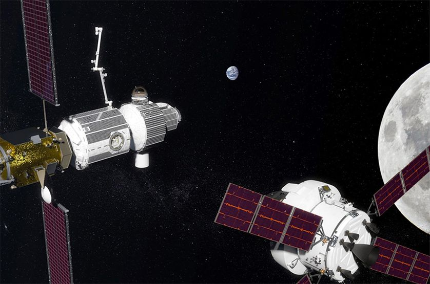 NASA to build a space station around the moon