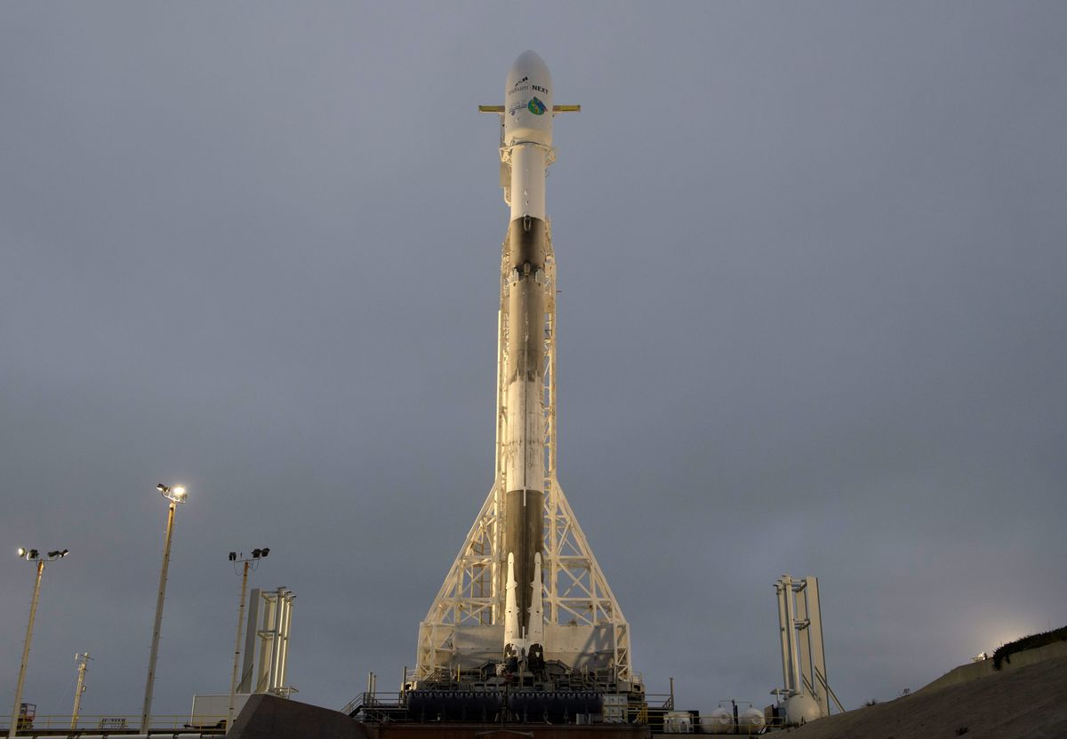 SpaceX blasts off Iridium, NASA satellites in 10th launch this year""