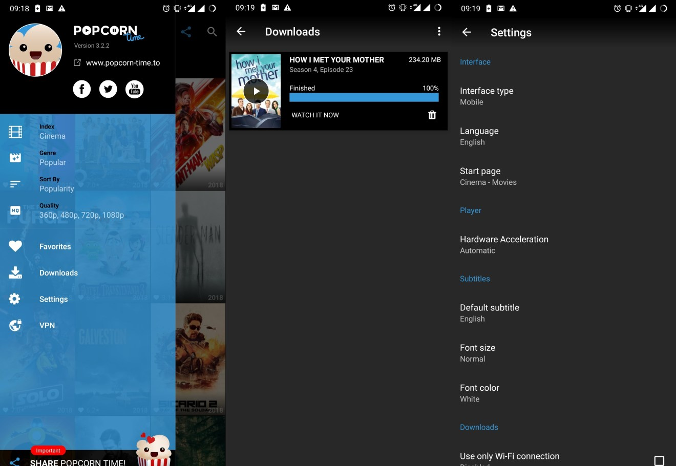 Review: Popcorn Time - The Netflix of Torrents & more