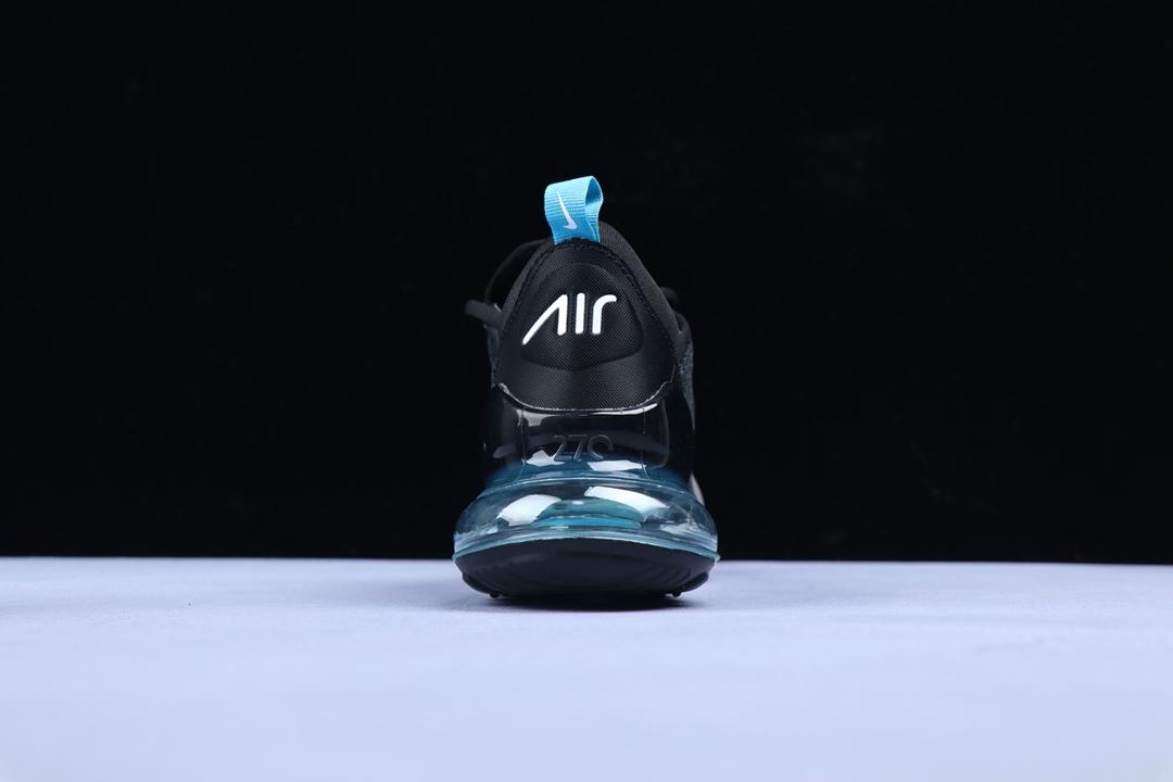 air max 270 negro con azul