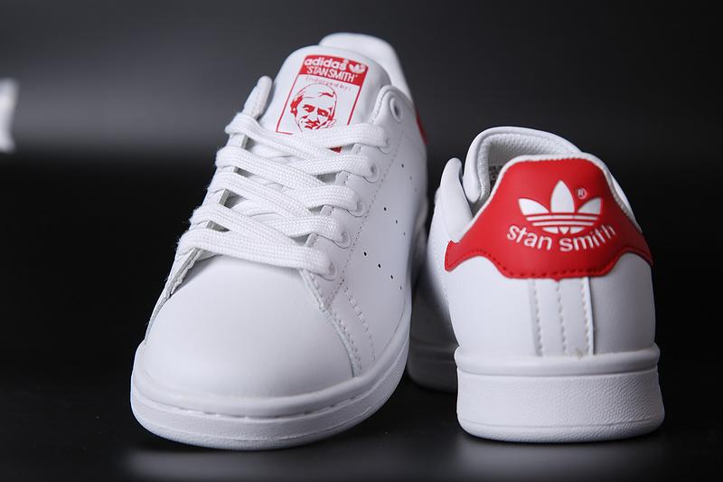 Adidas Stan Smith Blanco y Rojo