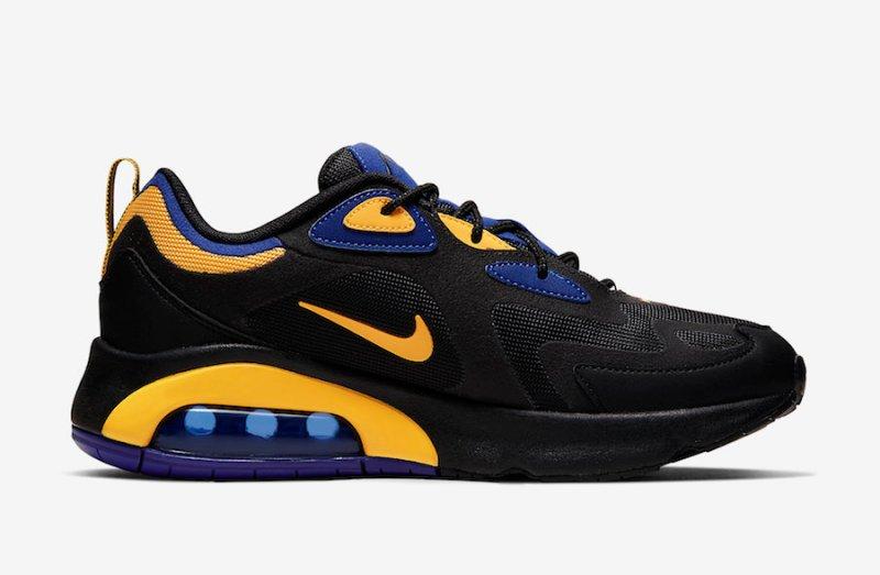 Nike Air 200 Negro y Amarillo