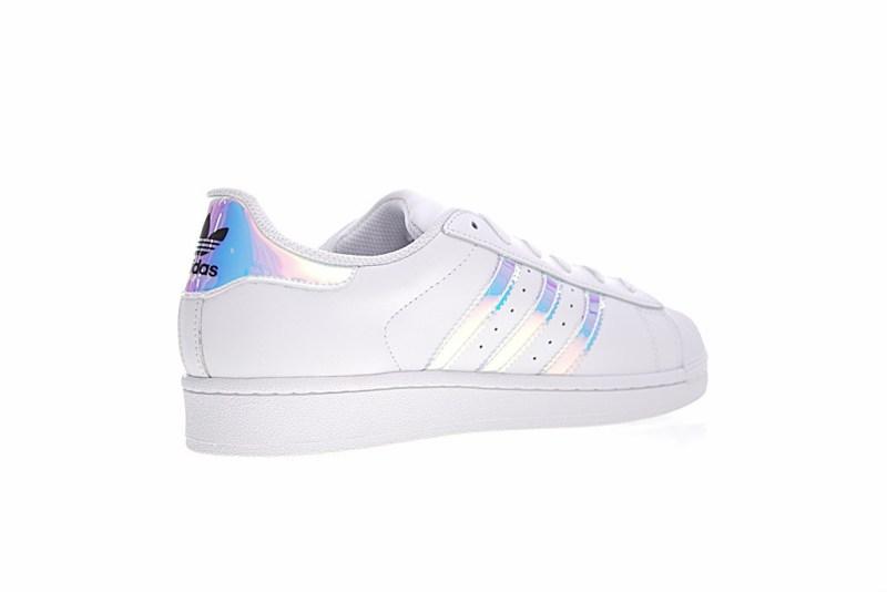 Adidas Superstar Blanco/Plateado