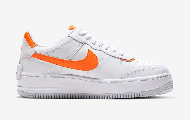 Nike Air Force Shadow Naranja