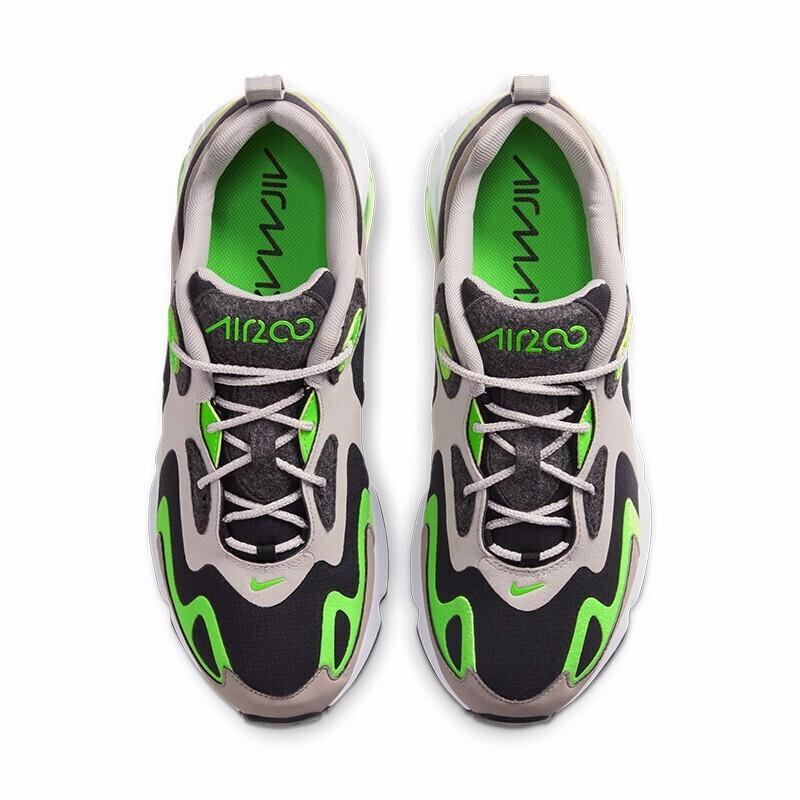 Nike Air 200 Negro y Lima