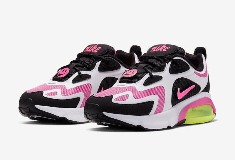 Nike Air 200 Blanco y Rosa
