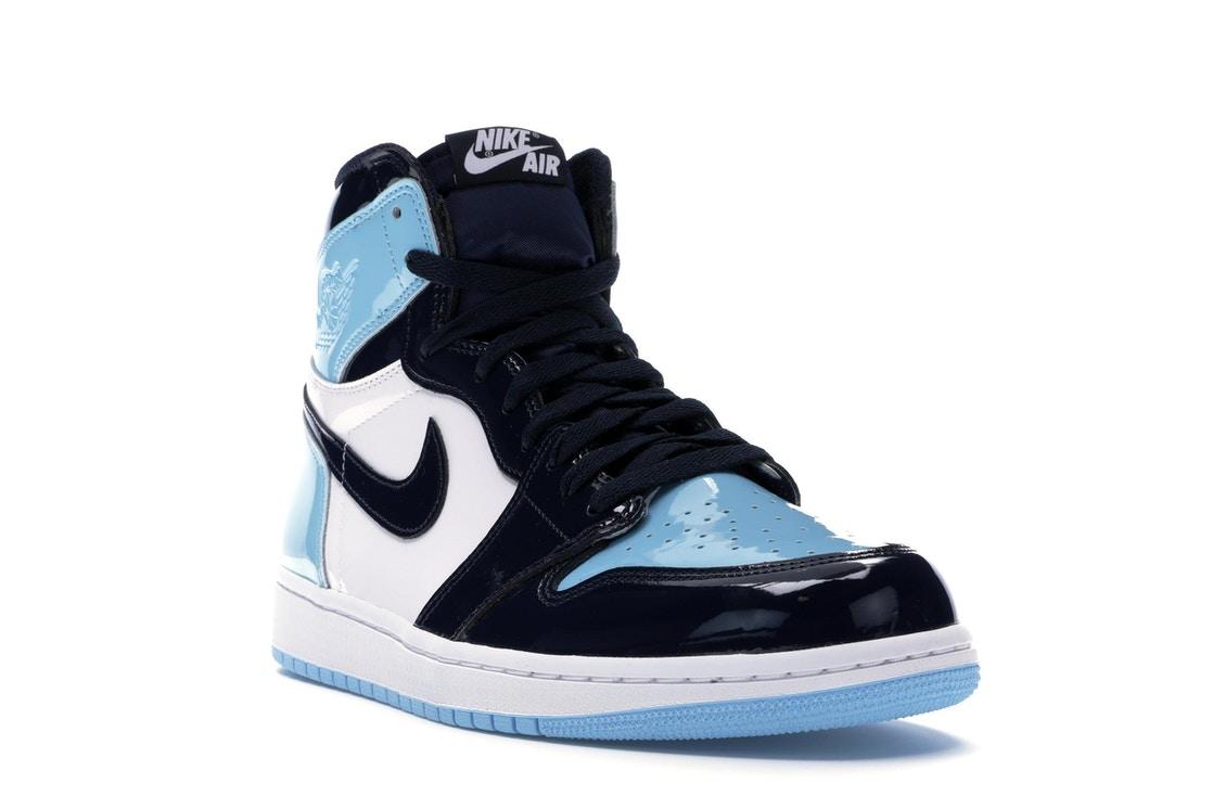 air jordan 1 retro azul y blanco