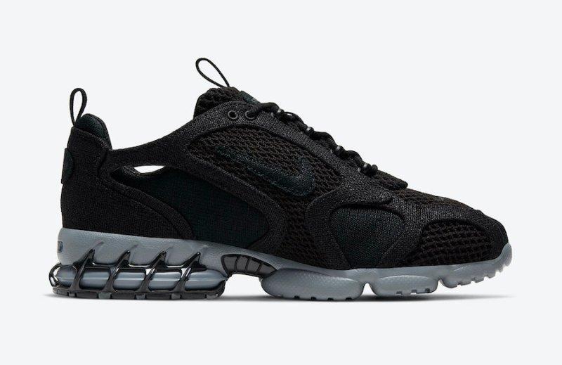 Stussy x Nike Air Zoom Spiridon Cage 2 Carbon