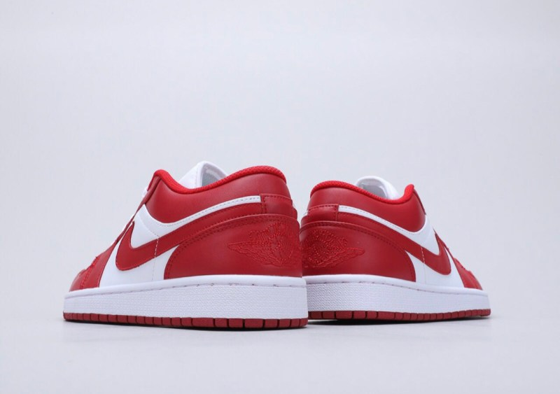 Air Jordan 1 Low Rojo