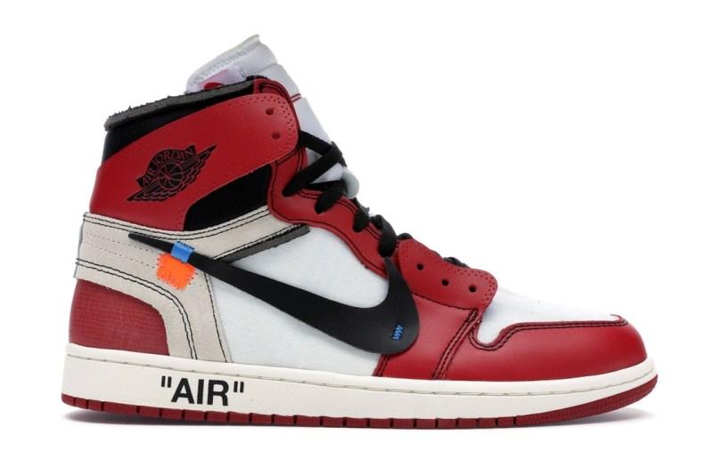 Air Jordan 1 x Off White Red