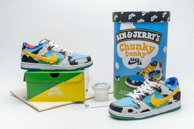 Nike SB x Ben & Jerry's ya disponible