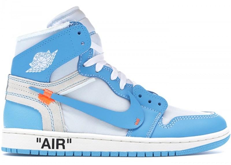 Air Jordan 1 x Off White Blue