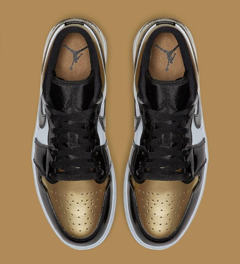 Air Jordan 1 Retro Low Gold Toe