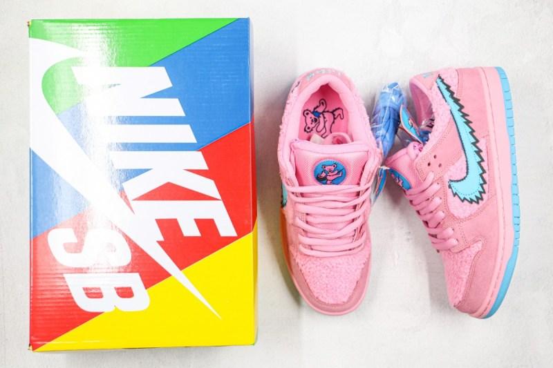 Nike SB Dunk Low Grateful Dead Pink