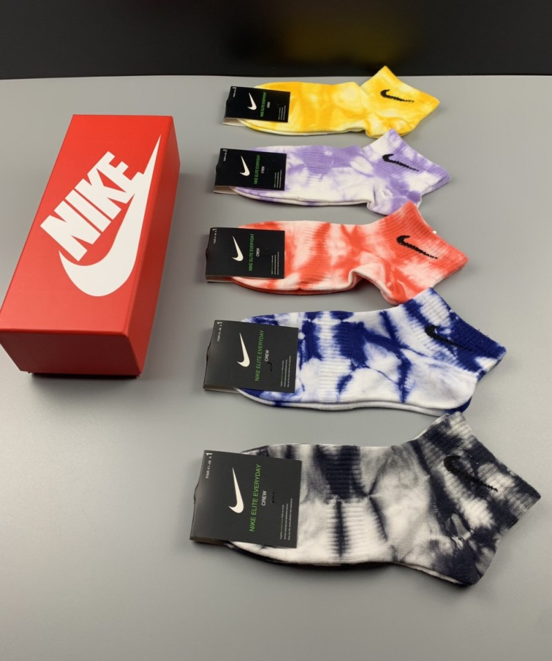 Pack 5 Calcetines Nike Tie Dye