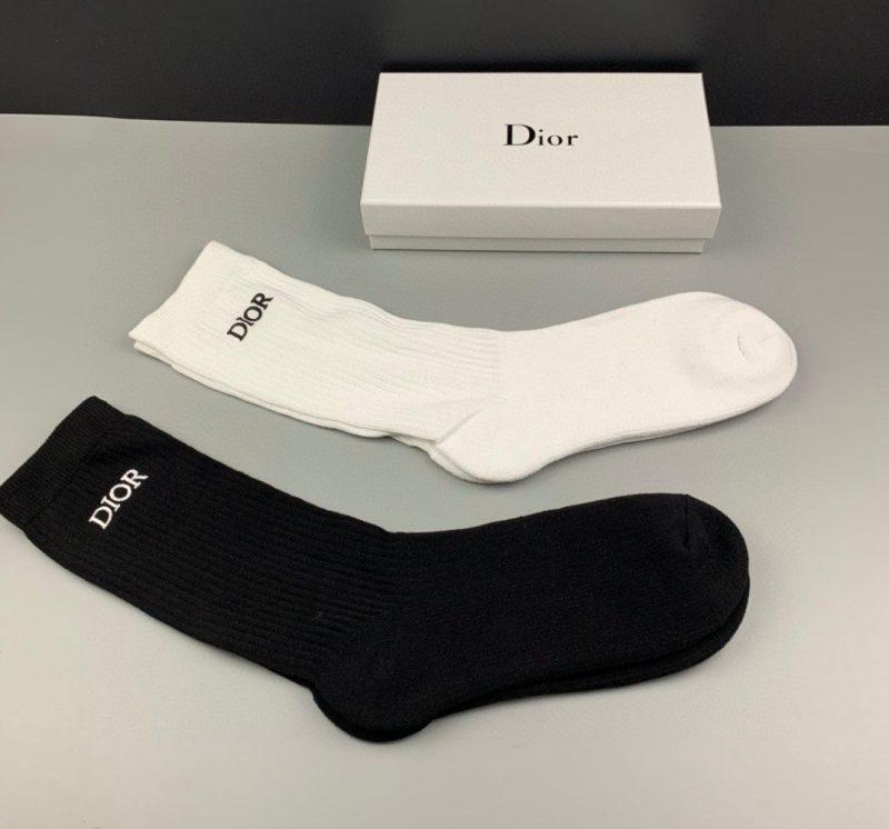 Pack 2 Calcetines Dior Básicos
