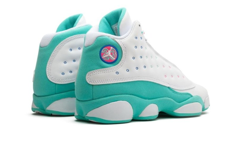 Air Jordan 13 Aurora Green