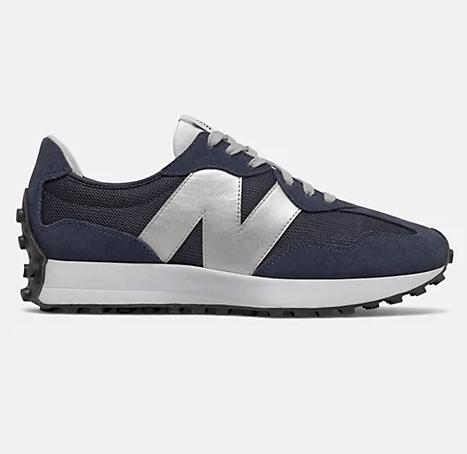 New Balance 327 Indigo Silver