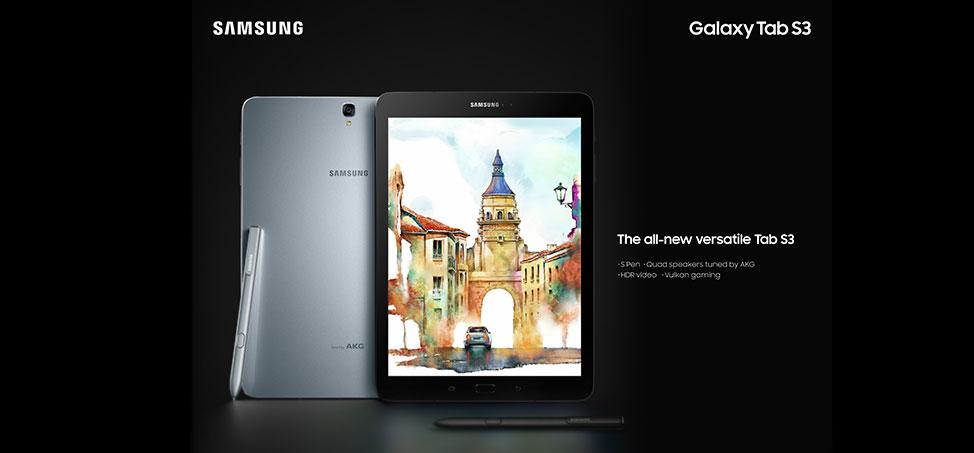 Galaxy Tab S3 جالاكسي تاب اس 3 مواصفات ومميزات وسعر الجهاز