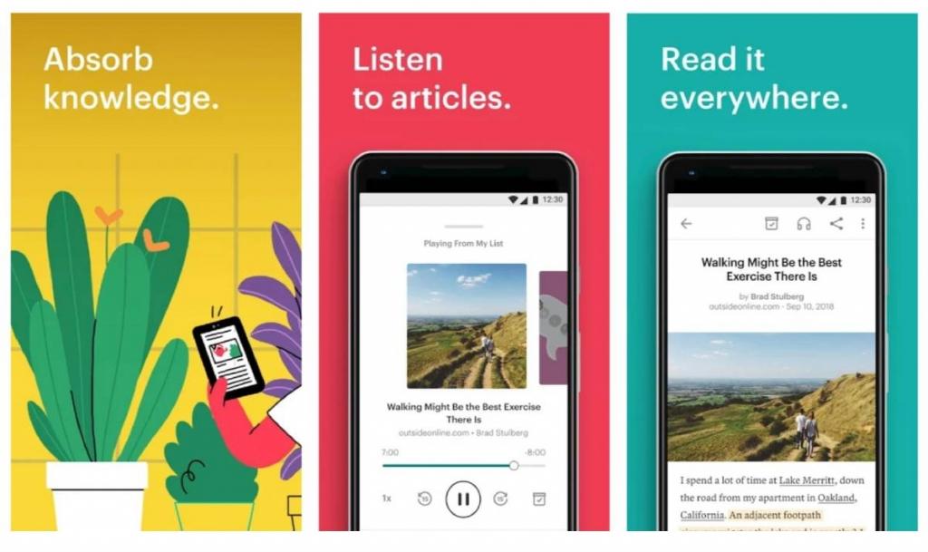 Pocket لحفظ المقالات وقرائتها دون إنترنت