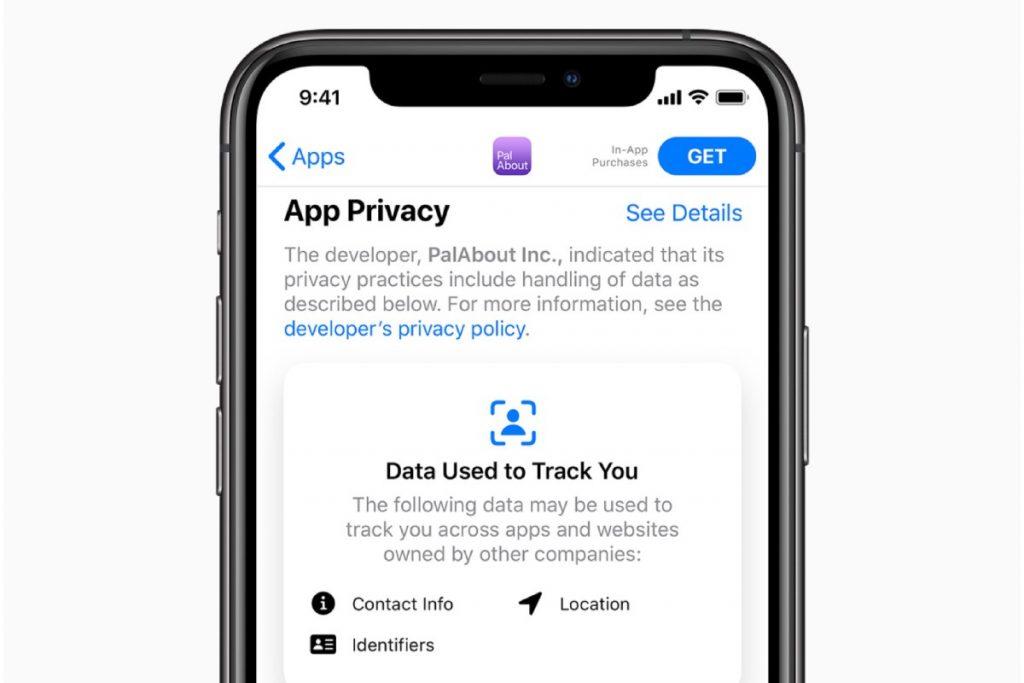 معلومات الخصوصية على App Store  iOS 14 مميزات الخصوصية الجديدة القادمة لايفون وايباد