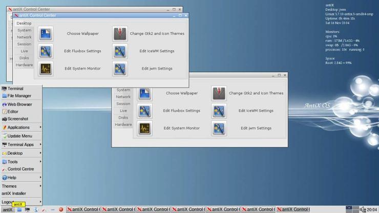 самый легкий дистрибутив linux