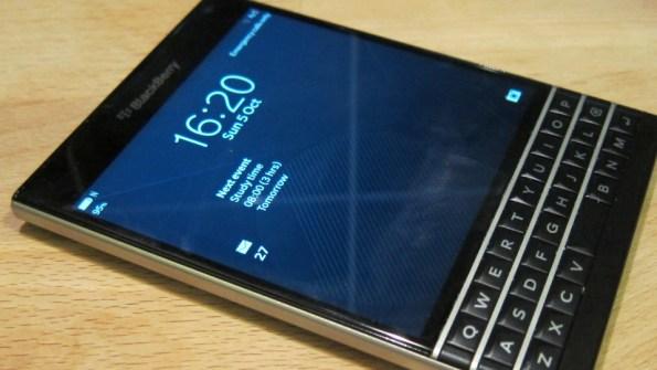 New Blackberry Passport
