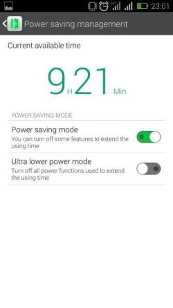 Power saving Management on the Hot Note
