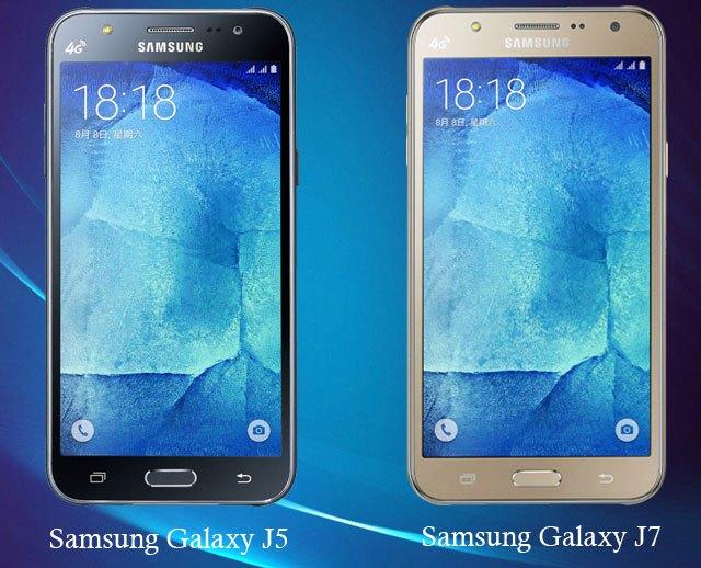 Galaxy J5 Galaxy J7
