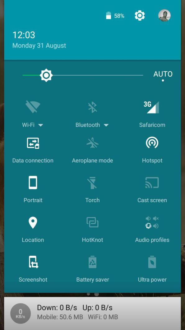 Quick Settings & notifications