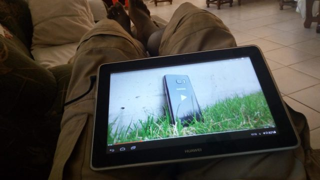 Huawei Tablet Video Sample Camera