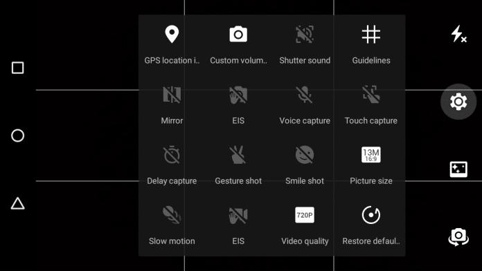 Infinix Note 2 X600 camera