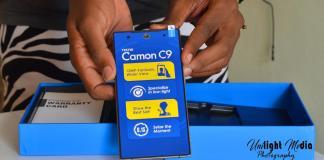 TECNO Camon C9 Unboxing