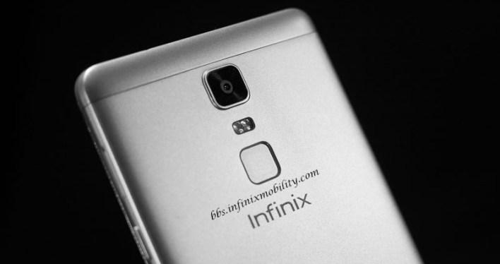 Infinix Note 3 Back
