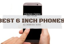 Best affordable 6 inch phones in Kenya