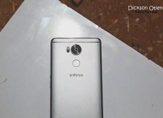 Infinix Zero4Plus Camera Fingerprint