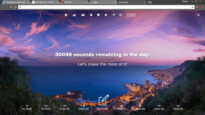 Chrome Home Screen