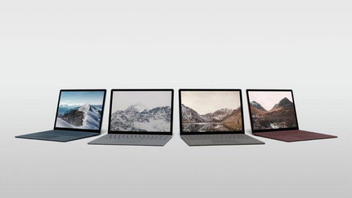 Microsoft Surface Laptop Lineup